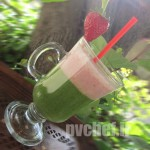 لِیِرد گرین اسموتی – layered green smoothy