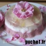 دسر گل محمدی