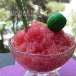 گرانیتای هندوانه – watermelon granita