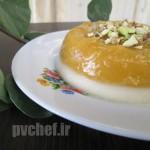 پاناکوتای انبه – mango panna cotta