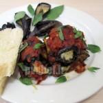 رول گریل بادمجان – grilled eggplant roll