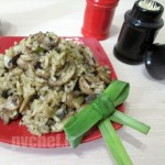 ریزوتو یِ قارچ – mushroom risotto