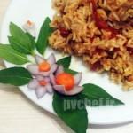 ریزوتوی گوجه – tomato risotto