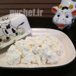 پنیر کاتِیج خانگی – homemade cottage cheese