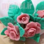 گل رز فوندانتی