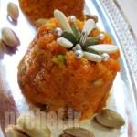 حلوای گَجَر – gajar ka halwa – गाजर का हलवा