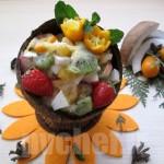 سالاد امبروسیا – ambrosia salad