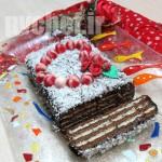 کیک بالرین ولنتاین